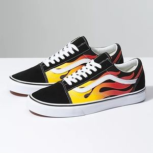 VANS | OLD SCHOOL FLAMES SNEAKERS